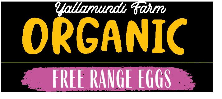 organics free range eggs logo